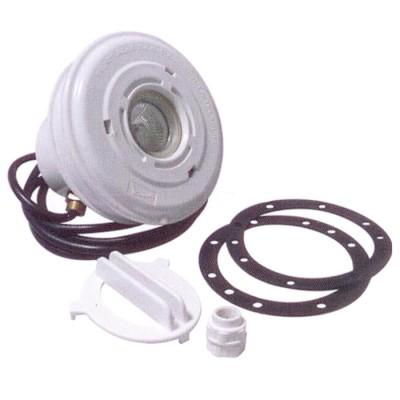 Подводный светильник 50Вт из ABS-пластика для пленочного бассейна , с закл., кабель 2,5м.