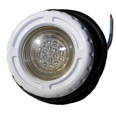 Подводный светильник LED из ABS-пластика многоцветный 1,5Вт 12В AC для с/р бас. и СПА