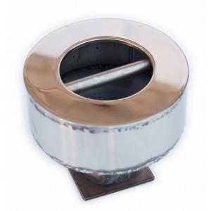Анкерное крепление с перекладиной для разд. дорожек в бетонный бассейн, AISI-316