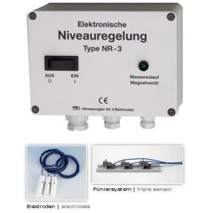 """Панель управления переливом OSF NR-3, с магнит. клапаном ½"""", 220В, без электродов"""