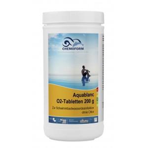 Аквабланк активный кислород в таблетках 200гр.  1кг