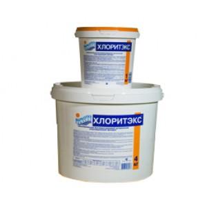 ХЛОРИТЭКС быстрый органический хлор (гранулы) ведро 1 кг (б.) /(1уп=12шт)