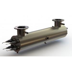Ультрафиолетовая установка УФУ-150, 150 м3/ч, AISI-321, 40мДж/см2