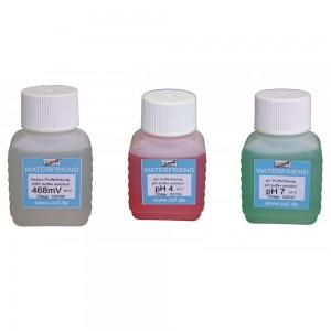 Комплект буферных растворов pH4, pH7, Rx, для станций MRD