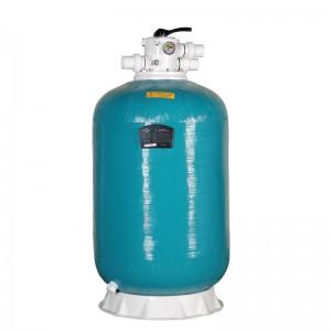 """Фильтр HP13400, шпул. навивки, d.400мм.,4,5м³/ч, выс загр. 0,75м, верх.подкл. 1½"""", без вентиля"""