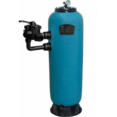 """Фильтр НРS13400, шпул.навивки, d.400мм, 3.9м³/ч, выс.0,8м, бок. подкл. 1½"""", без вентиля"""