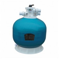 """Фильтр KP400, шпул. навивки, d.400мм, 6м³/ч, верх.подкл. 1½"""", без вентиля"""