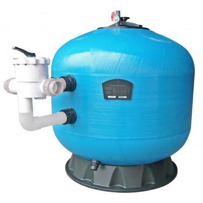 """Фильтр KS1400-2.5, шпул. навивки, d.1400мм, 46м³/час, бок. подкл. 2,5"""", без вентиля"""