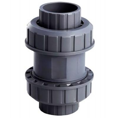 Обрат.клапан ПВХ 1,0 МПа d_50 (без пружины)