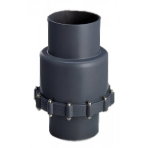 Обрат.клапан мембранный ПВХ 1,0 МПа d_ 75