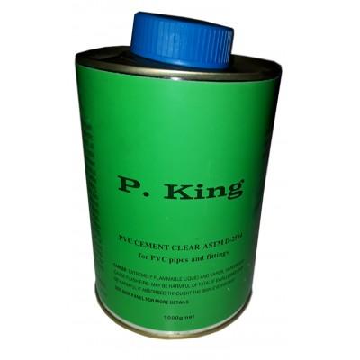 Клей ПВХ P.King 1000г.