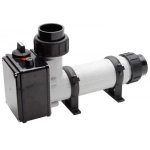 Водонагреватель  3 кВт Pahlen корпус пластик, тэн Incoloy825 д/п, термостат,реле перегрева,муфты d50