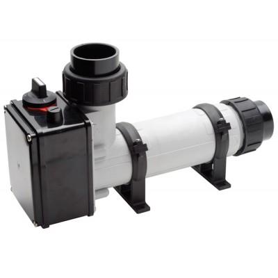 Водонагреватель 12 кВт Pahlen корпус пластик, тэн Incoloy825 д/п, термостат,реле перегрева,муфты d50