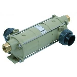 Теплообменник HI-TEMP, 40 кВт, корпус пластик, спираль Титан, Pahlen