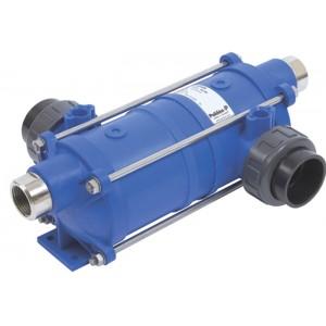 Теплообменник 40 кВт Pahlen HI-TEMP из термостойкого пластика со спиралью из AISI-316