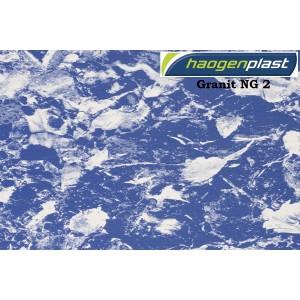 "Пленка ПВХ 1,65х25,00м ""Haogenplast"", Granit NG 2, темный гранит"