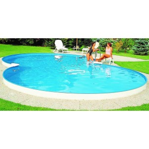 Бассейн в форме восьмерки Summer Fun  ( 4,70 х 3,00 х 1,20)