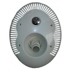 Лицевая панель круглая, ABS,противотока универсальная