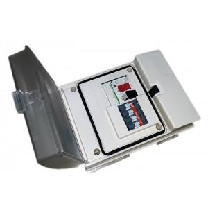 Пульт управления аттракционом 220В, 2,2 кВт, авт.13-18А, с пневмовыключателем