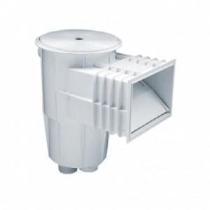 """Скиммер из ABS-пластика, 15 л. cо стандарт. раструбом, подкл.внутр. 2""""-1½"""", плитка"""