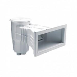 """Скиммер из ABS-пластика, 15 л. c широким раструбом, подкл.внутр. 2""""-1½"""", плитка"""