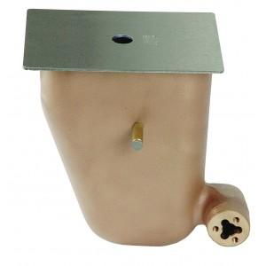 Регулятор уровня воды для скиммера 1252020 и 1262020, корпус-RG-бронза, крышка AISI-316