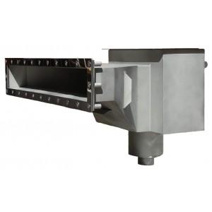 Скиммер нерж. ст. AISI-304 с камерой долива и расширенной горловиной пленка
